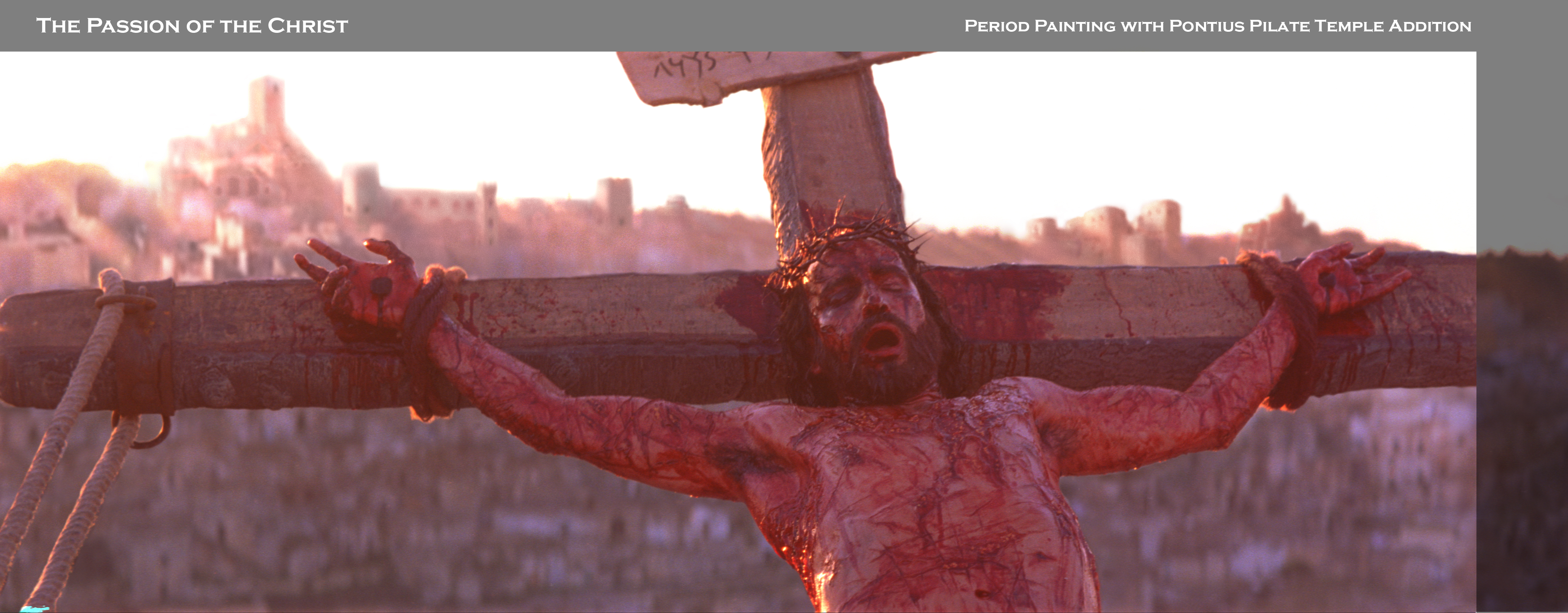 Matte Painting for Passion of the Christ