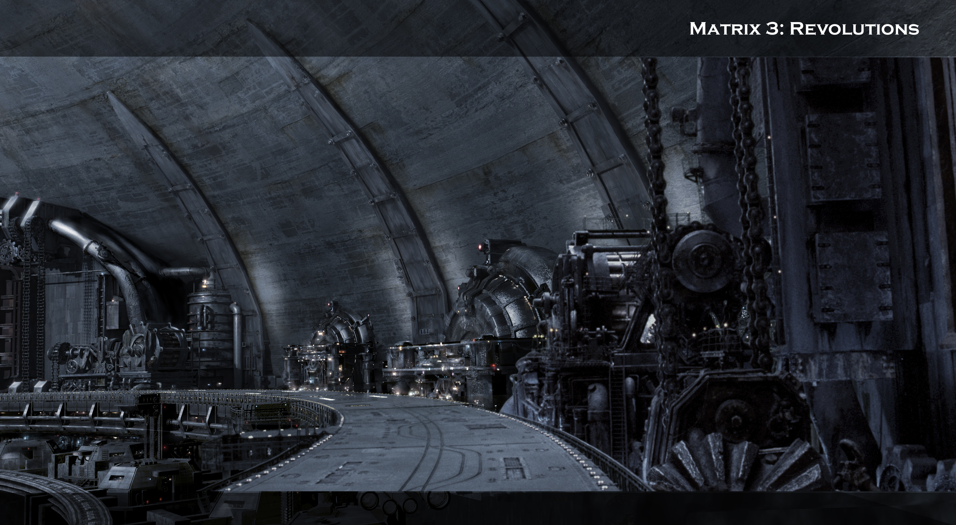 Matte Painting - Matrix Revolutions